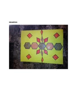 Elementary Geometry & Art Lesson Plan