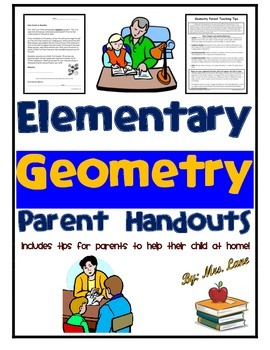 Elementary Geometry Parent Handouts (Help At Home)
