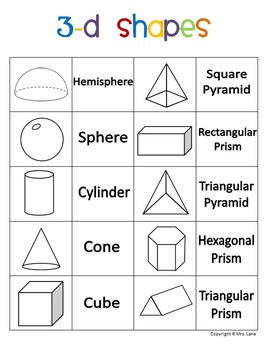 Elementary Geometry Posters (Includes 24 Different Ready-To-Print Posters)