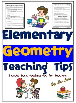 Elementary Geometry Teaching Tips