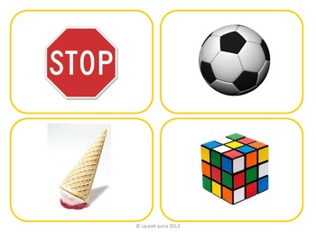 Elementary Geometry Vocabulary Matching Cards
