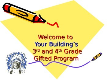 Elementary Gifted/Enrichment Services PPT with student responses
