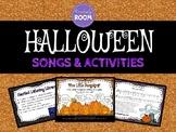 Halloween Songs & Activities for Music Class