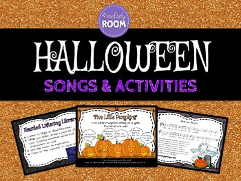 Elementary Halloween Music PPT