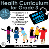 Elementary Health Curriculum Made Easy!: Full Year 3rd Gra