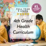 Elementary Health Curriculum Made Easy!: Full Year 4th Gra