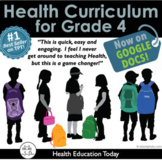 Elementary Health Curriculum Made Easy!: Full Year 4th Gra