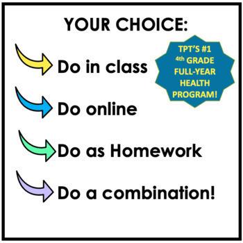 4th Grade Health Made Easy!: #1 Best-Selling Full Year 4th Grade Health Program