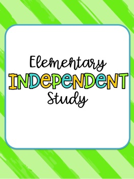 Elementary Independent Study