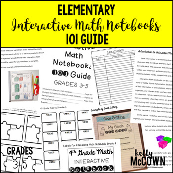 Elementary Interactive Math Notebooks 101 Guide