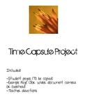 Elementary/ Intermediate Grade Time Capsule Activity