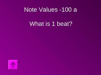 Elementary Jeopardy Round 1