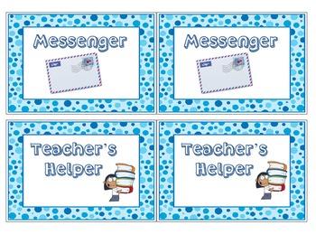 Elementary Job Cards