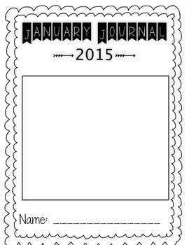 Elementary Journal Packet