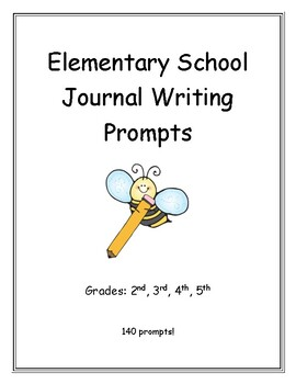 Elementary Daily Journal Prompts