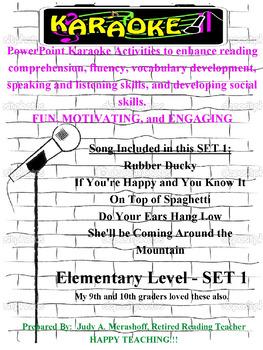 Elementary PowerPoint Karaoke Set 1
