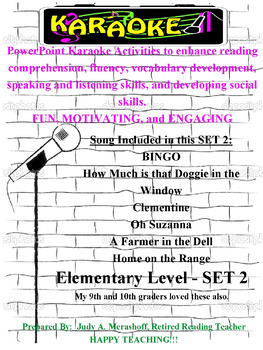 Elementary PowerPoint Karaoke Set 2