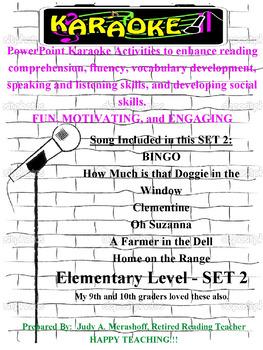 Elementary Karaoke Set 2