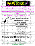 Middle and High School PowerPoint Karaoke Set 1