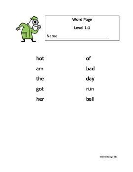 Elementary Level Differentiated Spelling Program