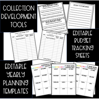 Elementary Library Binder {EDITABLE} 2017-2018 FREE UPDATES