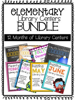 Elementary Library Centers GROWING BUNDLE