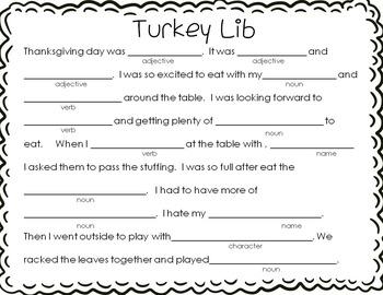 Elementary Library Centers Gobblingood November themed