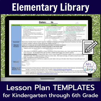 Library Lesson Plan Templates With Common Core Standards - Lesson plan template using common core standards