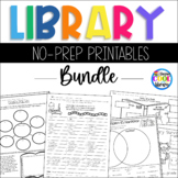 Library No Prep Printables - Bundle