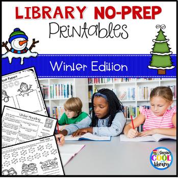 Library No Prep Printables - Winter Theme