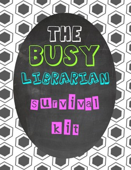 Elementary Library Printables for the Busy Librarian