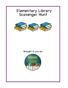 Elementary Library Scavenger Hunt
