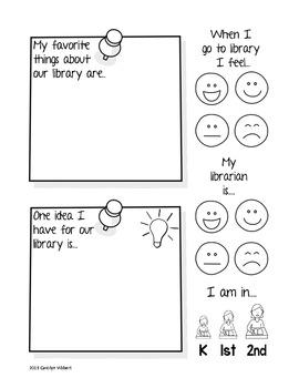Elementary Library Survey Sample