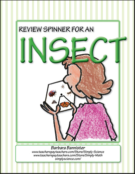 Elementary Life Science: Review Spinner for Arthropods