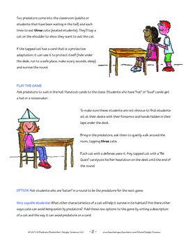 Elementary Life Science: Predator Game for Cats