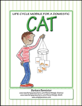 Life Cycle Mobile for a Cat ★ FREEBIE ★
