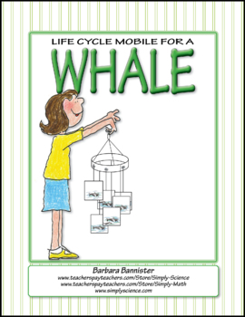 Life Cycle Mobile for a Killer Whale ★ FREEBIE ★