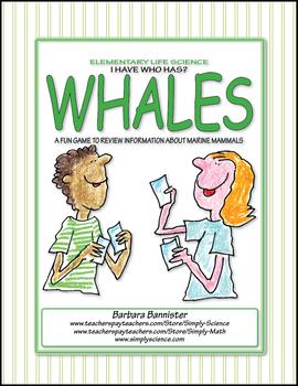 I have Who Has Whale Game ★ FREEBIE ★