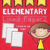 Elementary Lined Paper 2