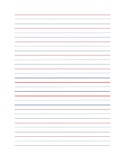 Elementary Lined Paper FREE