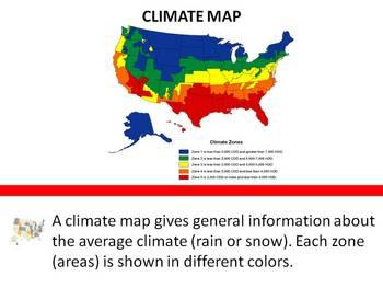 Elementary Map Skills PowerPoint Bundle (4)