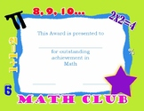 Elementary Math Certificate
