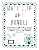 Elementary Math Clip Art Bundle