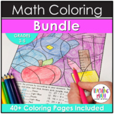 Elementary Math Coloring BUNDLE