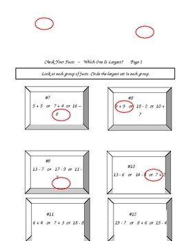 Elementary Math Facts 2