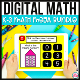 Elementary Math Games for GOOGLE Classroom Distance Learning
