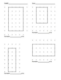 Elementary Math - Perimeter in Units packet - second grade