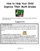 Elementary Math, Reading & Writing Parent Handouts
