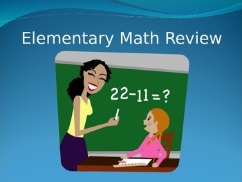 Elementary Math Review (PowerPoint)