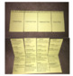 Elementary Math Rules Flip Book